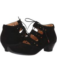 Think! - Aida - 83257 (black) Women's Lace-up Boots - Lyst
