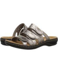 Clarks - Leisa Cacti Q Flat Sandals - Lyst