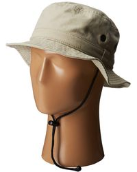 San Diego Hat Company - Cth3525 Outdoor Hat W/ Chin Cord - Lyst