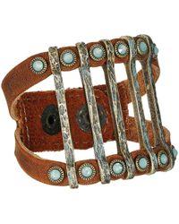 Leatherock - Molly (tobacco 1) Bracelet - Lyst