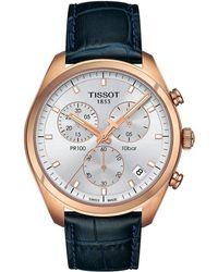 Tissot - Pr 100 Chronograph - T1014173603100 (silver/blue) Watches - Lyst