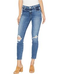 PAIGE - Verdugo Ankle Jeans In Embarcadero Destructed (embarcadero Destructed) Women's Jeans - Lyst