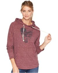 United By Blue - Parks Pennant Hoodie (navy) Women's Sweatshirt - Lyst