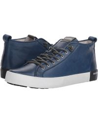 Blackstone - Mid Sneaker (rust) Men's Lace Up Casual Shoes - Lyst