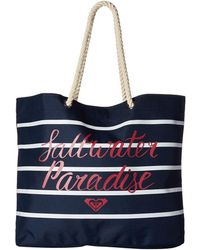Roxy - Tropical Vibe Beach Bag - Lyst