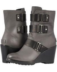 Sorel - After Hours Bootie (quarry) Women's Waterproof Boots - Lyst