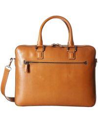 Trafalgar - Coleton Briefcase (tan) Bags - Lyst