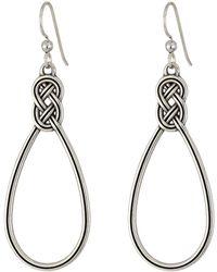 Brighton - Interlok Wire Drop Earrings - Lyst