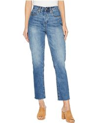 Blank NYC - The Madison High-rise Straight Leg Crop In Friend Zoned (friend Zoned) Women's Jeans - Lyst