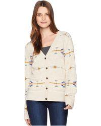 Pendleton - Desertscape Cardigan (oatmeal Multi) Women's Sweater - Lyst