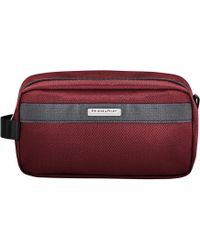 8d706bb6ee31 Briggs   Riley - Transcend Vx Toiletry Kit (merlot Red) Bags - Lyst