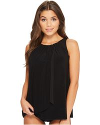 Miraclesuit - Network Mariella Tankini Top (black) Women's Swimwear - Lyst