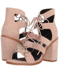 Sol Sana - Everly Heel (light Pink Suede) High Heels - Lyst