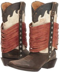 Durango - Dream Catcher 12 Wrapped Fringe (americana) Cowboy Boots - Lyst