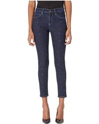 Nicole Miller - Soho High-rise In Ink (ink Wash) Women's Jeans - Lyst