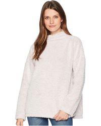 Dylan By True Grit - Fresh Air Fleece Drop Shoulder Pullover (pink) Women's Clothing - Lyst