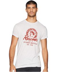 The Original Retro Brand - Roscoe's Chicken Waffles Vintage Tri-blend Tee (streaky Ash) Men's T Shirt - Lyst