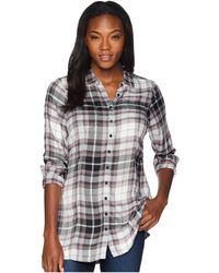 Aventura Clothing - Mara Long Sleeve Shirt (black) Women's Long Sleeve Button Up - Lyst