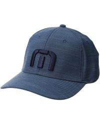 Travis Mathew - Top Shelf (light Grey) Baseball Caps - Lyst