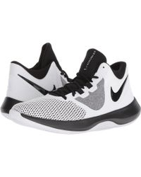 a30e8bf63142 Lyst - Nike Air Precision Basketball Shoe 9 Us in White for Men