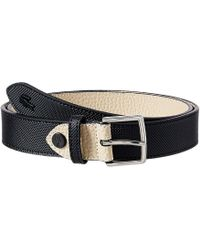 795dcb3a3202d Premium Chantaco Coated Leather Belt.  56. Amazon Prime · Lacoste - 25  Reversible Stitched (black Warm Sand) Women s Belts - Lyst