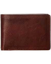 Bosca - Dolce Collection - Small Bifold Wallet - Lyst