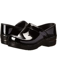 Dansko - Professional Patent Leather Men's - Lyst