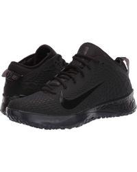 premium selection b54c6 51865 Nike - Force Zoom Trout 5 Turf (black black thunder Grey) Men s