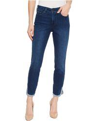 NYDJ - Ami Skinny Ankle W/ Dolphin Hem In Cooper (cooper) Women's Jeans - Lyst
