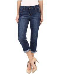84d664c69aa Liverpool Jeans Company - Michelle Capris In Montauk Mid Blue (montauk Mid  Blue) Women s