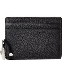 AllSaints - Fetch Mirror Card Holder (black) Credit Card Wallet - Lyst