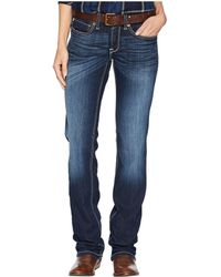Ariat - R.e.a.l.tm Straight Ella Jeans In Willow (willow) Women's Jeans - Lyst