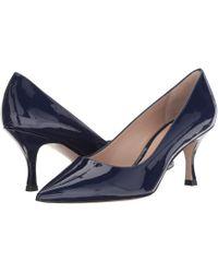 Stuart Weitzman - Tippi 70 (pitch Black Combo Suede) Women's Shoes - Lyst