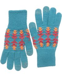 Pendleton - Texting Gloves (tucson Turquoise) Over-mits Gloves - Lyst