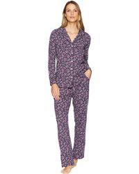Carole Hochman - Long Sleeve Pajama Set (grey Damask) Women's Pajama Sets - Lyst
