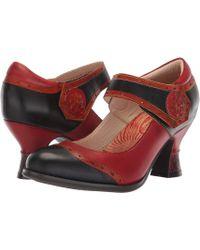 4d83c7459855 Spring Step - Maryellen (black Multi) Women s Shoes - Lyst