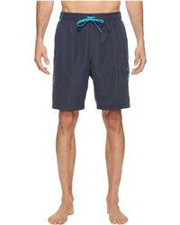 Speedo - Marina Volley Swim Trunk (black/red) Men's Swimwear - Lyst