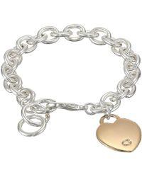 Guess - Heart Bracelet - Lyst
