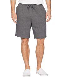 Lacoste - Sport Fleece Shorts (pitch) Men's Shorts - Lyst