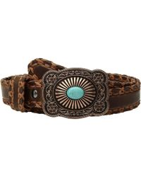 Ariat | Cross Stitch With Lace Edge Belt | Lyst