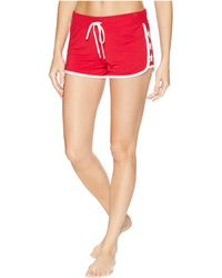 Pj Salvage - 76 Vibes Shorts (red) Women's Pajama - Lyst