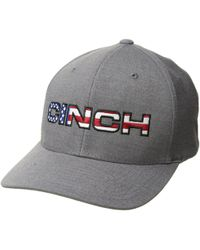 Cinch - Mid-profile Flexfit Cap (heathered Grey) Caps - Lyst 8ddc21e3a78d
