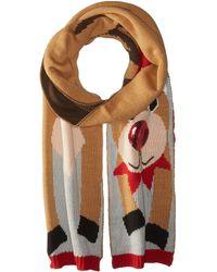 San Diego Hat Company - Bss1691 Reindeer Scarf (brown) Scarves - Lyst