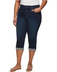 NYDJ   Plus Size Marilyn Crop Cuff In Bezel   Lyst