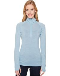 Icebreaker - Zeal Merino Long Sleeve 1/2 Zip - Lyst