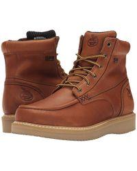 Georgia Boot - 6 Moc Toe Wedge (barracuda Gold) Men's Work Boots - Lyst