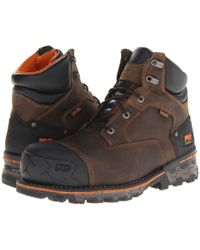 Timberland - Boondock Wp 6 Comp Toe (brown) Men's Work Boots - Lyst