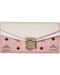 2265d9f3a4973 MCM - Patricia Visetos Wallet On A Chain (cognac red) Wallet Handbags -