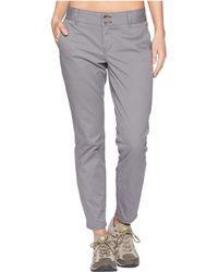 Mountain Khakis - Sadie Skinny Chino Pants (classic Khaki) Women's Casual Pants - Lyst