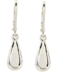 Lauren by Ralph Lauren | Teardrop Wire Earrings | Lyst